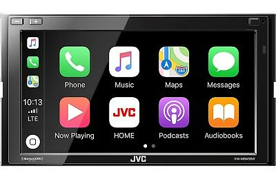 JVC KW-V940BW DVD Receiver, Apple Car Play, Wireless Android Auto, WebLink