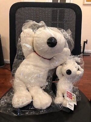 KAWS x PEANUTS SNOOPY PLUSH SET SMALL/LARGE