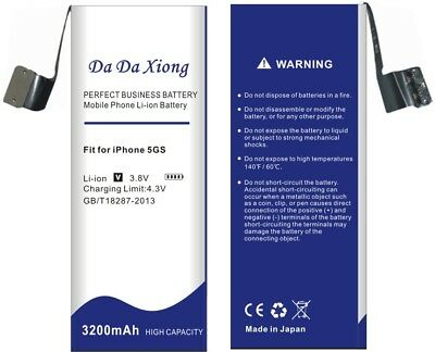 Da Da Xiong 3200mAh For Apple iPhone 5S battery for iphone 5C battery +Free Tool
