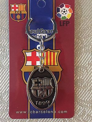 Embossed key chain FC Metal material Football Barca fans products key chain 1pcs