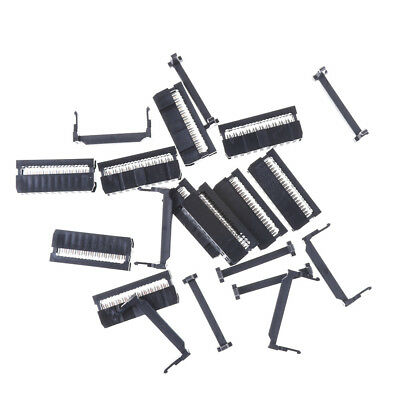 10PCS IDC 20 PIN Female Header  FC-20 2.54 mm pitch Socket Connector SRAU