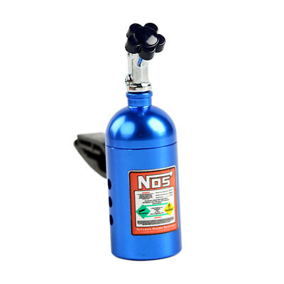 NOS Car Auto Air Freshener Clip Decoration Blue With Box 63×18mm