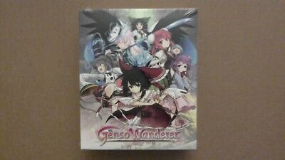 Touhou Genso Wanderer Limited Edition (Sony PlayStation 4, 2017) Factory Sealed!