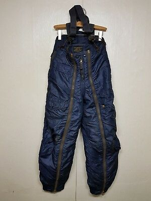 RARE 1940'S Vintage USAF A-11C Flight Pants Trousers + Sling US Military Clothes