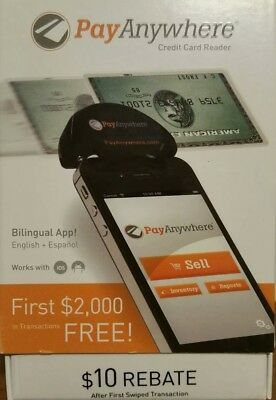 NEW PayAnywhere Credit Card Reader for Apple & Android - Black
