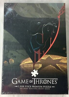 Game of Thrones  Puzzle 1000 Pieces PCS Beautiful Death Series New HBO Sealed