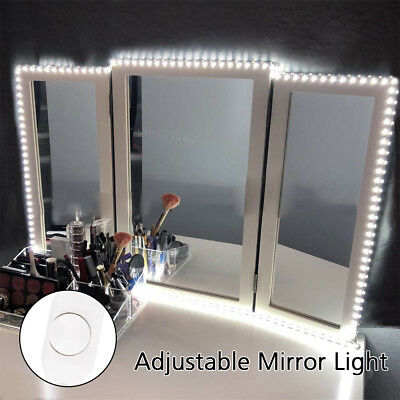 240 LED Dimmable Hollywood LED Vanity Mirror Light Kit for Makeup Dressing 4M