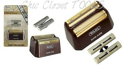 Wahl 5 Star Shaver Gold Replacement Foil & Cutter Bar Assembly 7031-100 NEW