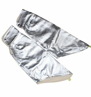 Aluminized Flame Resistant Arm Sleeves Safety Work Industrial Welding Arm Guard