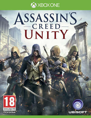 Assassin's Creed Unity XBOX LIVE XBOX ONE Global Key Digital Download