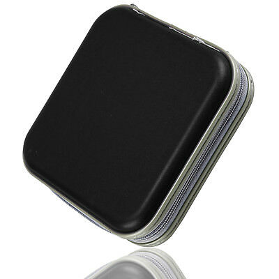 Black 40 Disc Disk CD/DVD Case Sleeve Plastic Bag Portable Wallet Holder Storage