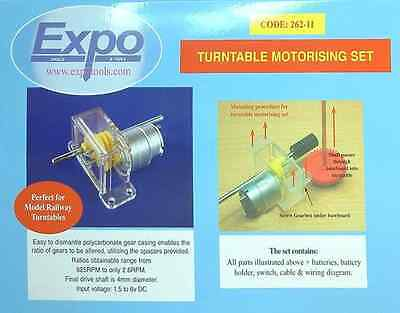 Turntable motorising kit - Expotools 26211