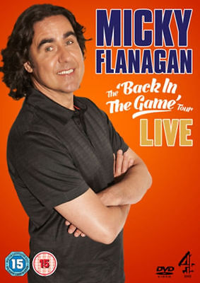 Micky Flanagan Live! The 'Back In The Game' Tour Dvd Brand New & Factory Sealed