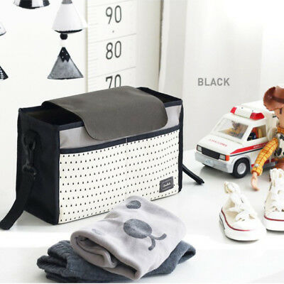 2018 Baby Trolley Storage Bag Stroller Cup Carriage Pram Organizer Convenient
