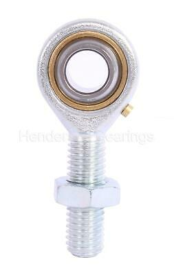 POS6 6mm Male Rod End/Rose Bearing M6 Right Hand (Pack of 1, With Nut)