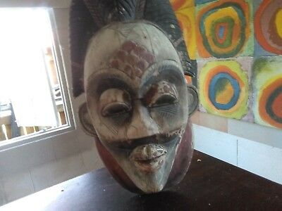 old south African Zulu mask
