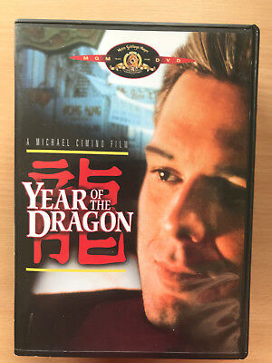 MICKEY ROURKE YEAR OF THE DRAGON 1985 Triade Crime Gangster classique région 3
