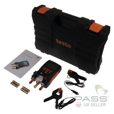 *NEW* Testo 550 Digital Refrigeration Manifold with Bluetooth / UK