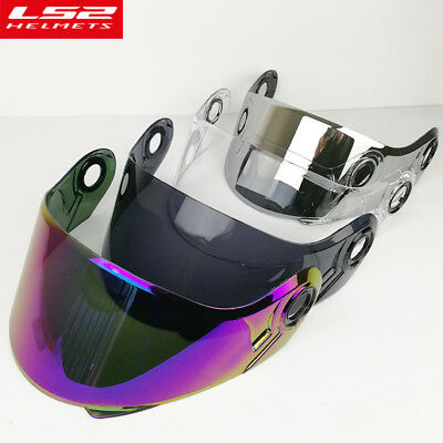 Helmet Visor Motorcycle Lens Shield For LS2 FF370 FF325 FF394 Flip Over Helmet