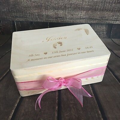 Angel Baby Memorial Box Infant Loss Miscarriage Keepsake Remembrance