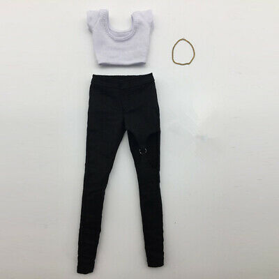 1/6 Female Trousers Women Clothing Set for 12'' HT Phicen Kumik Figures Doll