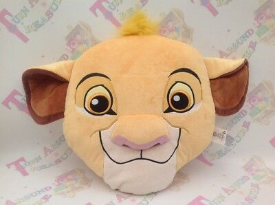 Disney Store Plush Lion King Simba Cushion Soft Toy LARGE 56 CM Excellent Con!