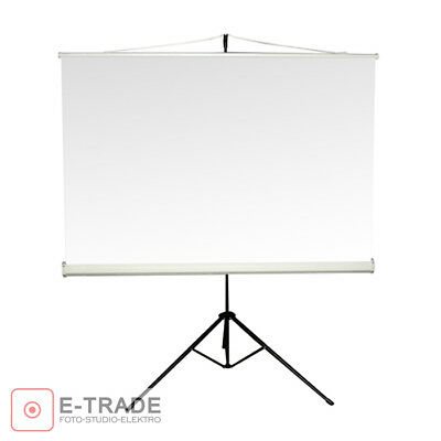150 x 150cm Projection Screen with Tripod / for DLP LCD Projector - 4:3 and 16:9