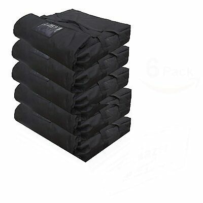 "Case of 5 Pizza Delivery Bag Thick Insulated Holds upto 4-5 16"" or 18"" Pizza Red"