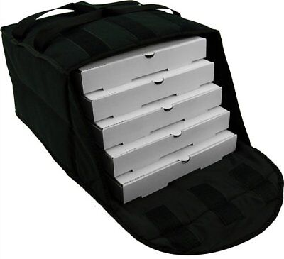 "Pizza Delivery Bags Thick insulated (Holds upto Four16"" or Five18"" Pizzas)Black"