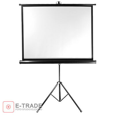 92x122cm Projection Screen with Tripod / for DLP LCD Projector - 4:3 and 16:9