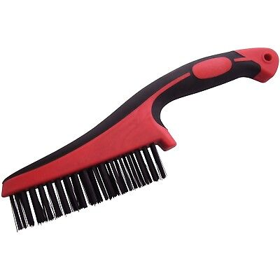 New Multi Purpose Wire Bristle Scratch Brush Cleaning Removing Rust Carbon Steel