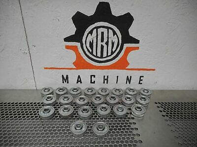 """Miller Ball Bearing 1/2"""" ID 1-3/16"""" OD 7/16"""" Wide Single Row Flanged & Sealed 23"""