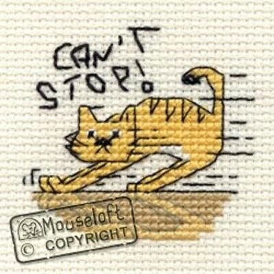 Mouseloft Stitchlets 'Biscuit The Cat' Cross Stitch Kits - Choice of 8 *Free P+P