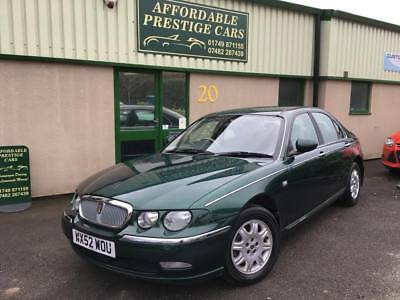 2002 Rover 75 2.0 V6 Classic SE 4dr only 35,000 miles!!