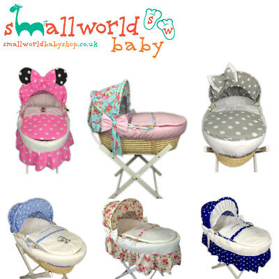 Personalised Girls Boys Unisex Moses Basket Cover (NEXT DAY DISPATCH)