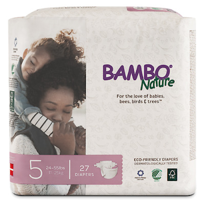 Bambo Nature Diapers (Size 5)