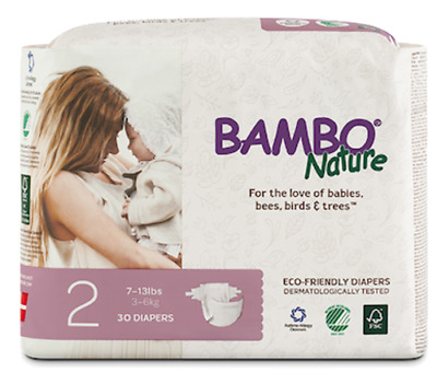 Bambo Nature Diapers (Size 2)