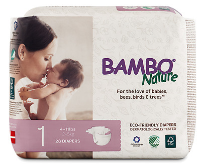 Bambo Nature Diapers (Size 1)