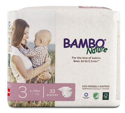 Bambo Nature Diapers (Size 3)
