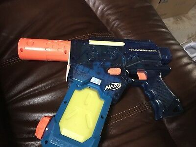 Nerf Thunderstorm Super Soaker Battery Powered Water Gun Automatic with Clip