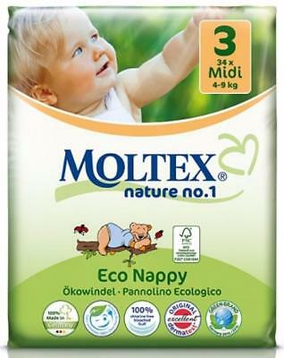 Moltex Nature Diapers (Size 3)