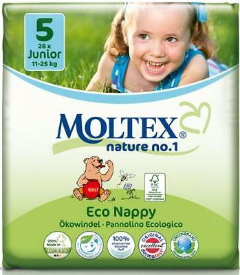 Moltex Nature Diapers (Size 5)