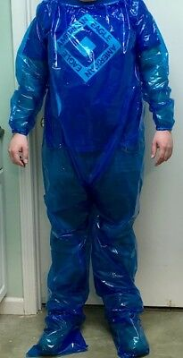 Blue Plastic Body Suit - One Size Fits All