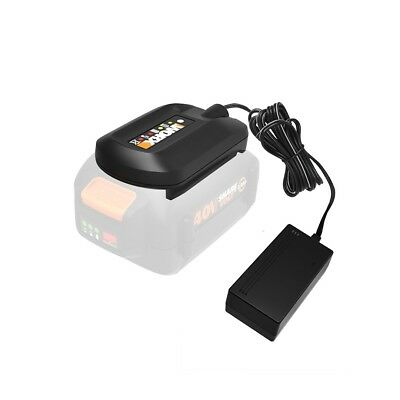 WORX WA3747 40V MaxLithium Powershare Battery Charger for WA3580