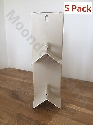 5 x TALL PLASTIC ROOSTING PERCH FOR CAGE & AVIARY BIRDS Pigeon Budgie Canary etc