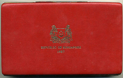 Singapore 1987 6 Piece Sterling Proof Set