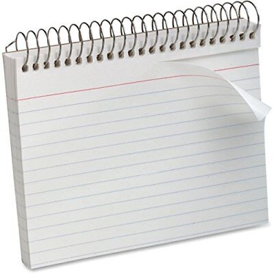 ESS40284 - Oxford Spiral-Bound 5quot x 8quot Index Cards