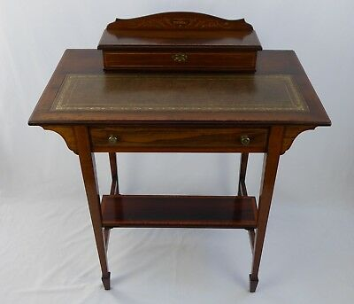 A fine Edwardian ladies writing desk finished in Rosewood, mint condition
