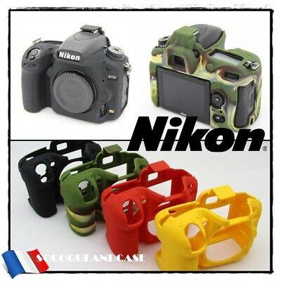 Etui Coque Housse Silicone Appareil Photo Camera Case NIKON D750 Digital SLR