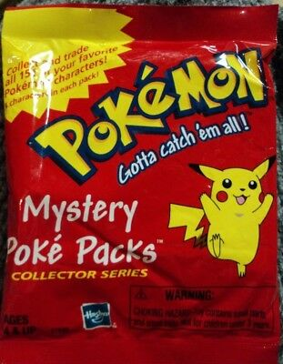 Pokemon Mystery Poke Packs Collector Series - 4 Characters Per Pack